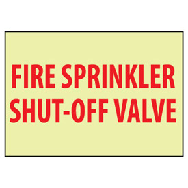 Glow Sign Vinyl - Shut-Off Valve