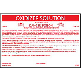 HazMat Container Labels - Oxidizer
