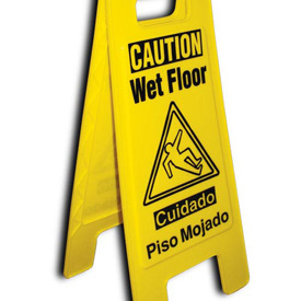 Heavy Duty Floor Stand - Caution Tripping Hazard