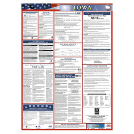 Labor Law Poster - Iowa