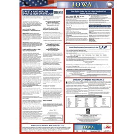 Labor Law Poster - Iowa - Spanish