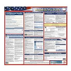 Labor Law Poster - Washington - Spanish