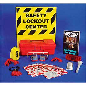 Electrical Lockout Center with Contents