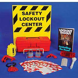 Electrical Lockout Center - Backboard and Rack