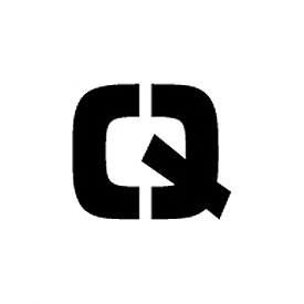 "Individual Character Stencil 12"" - Letter Q"