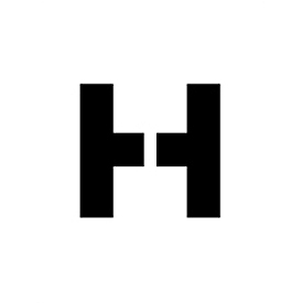"""Individual Character Stencil 24"""" - Letter H"""