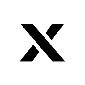 """Individual Character Stencil 24"""" - Letter X"""