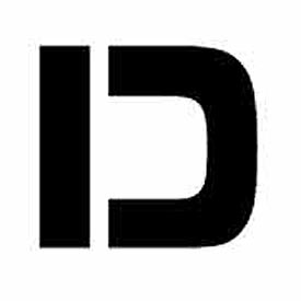 """Individual Character Stencil 4"""" - Letter D"""