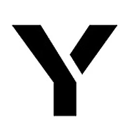 "Individual Character Stencil 4"" - Letter Y"