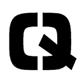 "Individual Character Stencil 8"" - Letter Q"