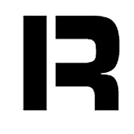 "Individual Character Stencil 8"" - Letter R"