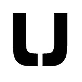 "Individual Character Stencil 8"" - Letter U"