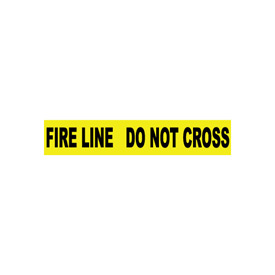 Printed Barricade Tape - Fire Line Do Not Cross