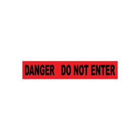 Printed Barricade Tape - Danger Do Not Enter