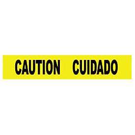 Printed Barricade Tape - Caution Cuidado
