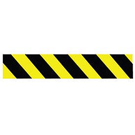 Printed Barricade Tape - Yellow and Black Stripe