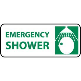 Pictorial OSHA Sign - Plastic - Emergency Shower