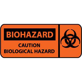 Pictorial OSHA Sign - Plastic - Biohazard Caution Biological Hazard