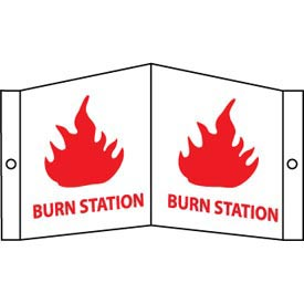 Facility Visi Sign - Burn Station