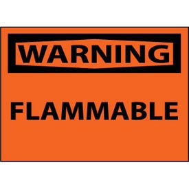 Machine Labels - Warning Flammable