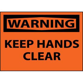 Machine Labels - Warning Keep Hands Clear