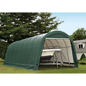 14x28x12 Round Style Shelter - Green