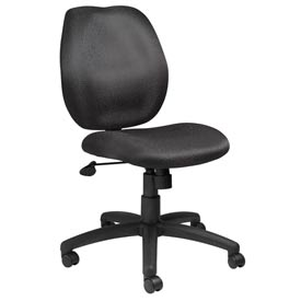 Boss Task Chair - Fabric - Mid Back - Black
