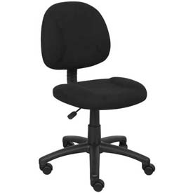 Boss Deluxe Posture Chair - Fabric - Black