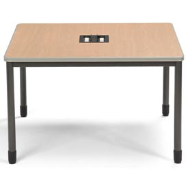"OFM Workstation Desk - 48""W x 48""D - Maple - Mesa Series"