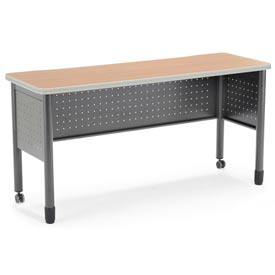 "OFM Training Table -20""D x 59""W - Maple - Mesa Series"