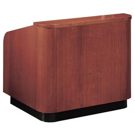 Veneer Contemporary Table Podium / Lectern - Mahogany