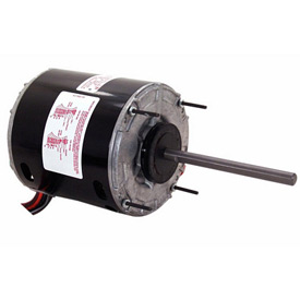 "Century 666A, 5 5/8"" Split Capacitor Condenser Fan Motor - 208-230 Volts 1625 RPM"