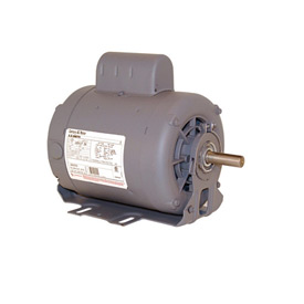 Century C654, Capacitor Start Resilient Base Motor - 208-230/115 Volts 1725 RPM