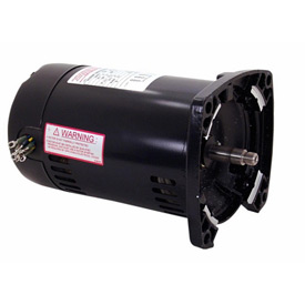 Century Q3202, 3 Phase Square Flange Pump Motor - 208-230/460 Volts 2HP