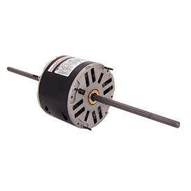 "Century SA1026, 5-5/8"" Double Shaft Air Conditioner Motor - 208-230 Volts 1/4HP"