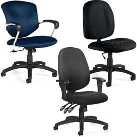 Global™ & Office To Go™ - Fabric Upholstered Chairs