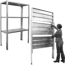PVI - Retractable Shelving