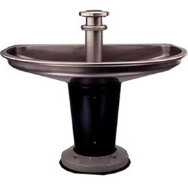 Antimicrobial Semicircular Washfountains