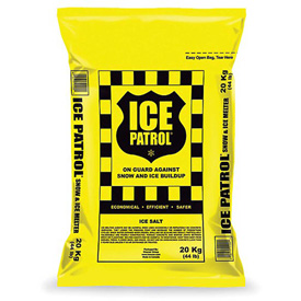 Ice Patrol Rock Salt Bags