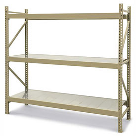 JBX 800 Wide-Span Boltless Shelving With Solid Steel Decks