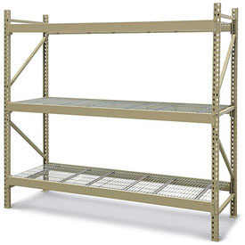 JBX 800 Wide-Span Boltless Shelving With Wire Decking