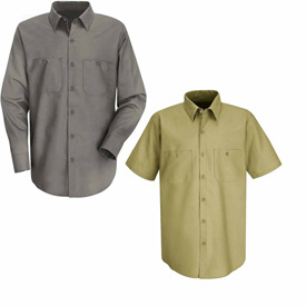 Red Kap® Cotton Work Shirts