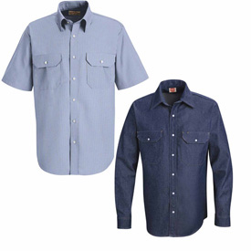 Red Kap® Deluxe Uniform Shirts