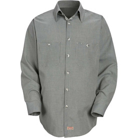Red Kap® Micro-Check Uniform Shirts