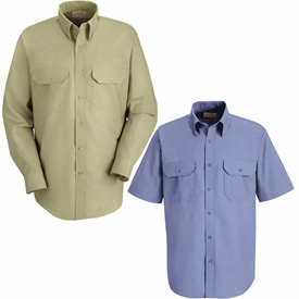 Red Kap® Solid Dress Uniform Shirts