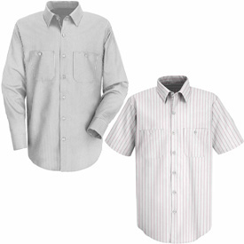 Red Kap® Striped Dress Uniform Shirts