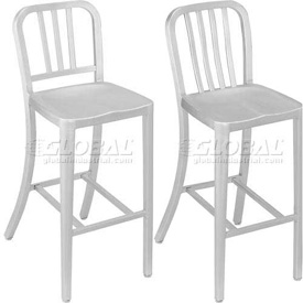 Interion™ - Aluminum Bar Stools