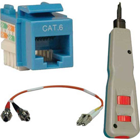 Jacks, Connectors, Termination, Couplers and Tools