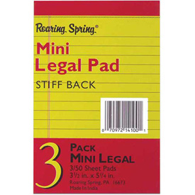 Legal Pads - Jr. Size