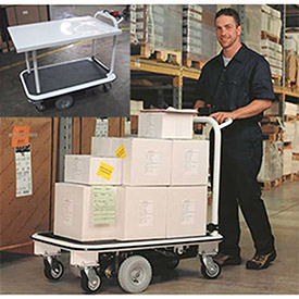 Electro Kinetic Technologies Pony Express Motorized Platform & Shelving Carts